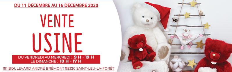 Vente Usine: Sélection de produits Doudou et Compagnie en promotion - Saint-Leu-La-foret (95) - DoudouEtCompagnie.com