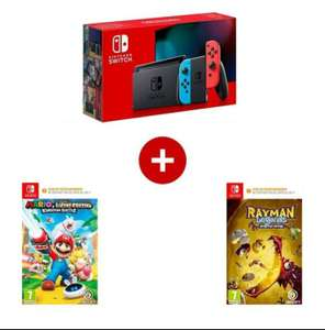 Pack console Nintendo Switch + 2 jeux