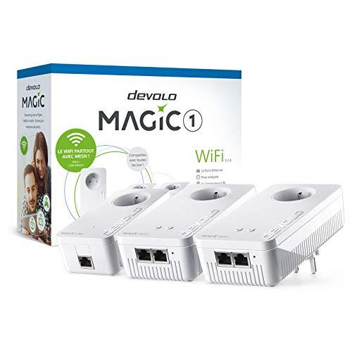 Kit CPL Multiroom Devolo Magic 1 WiFi - 1200 mbps