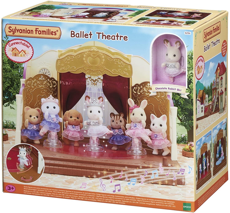 Sélection de figurines et poupées en promotion - Ex: Théatre Ballet Sylvanian