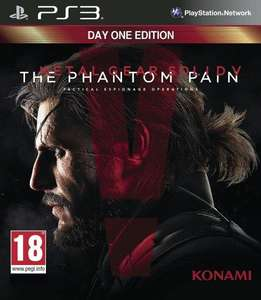 Jeu Metal Gear Solid V : The Phantom Pain sur PS3/Xbox 360 - Edition Day One