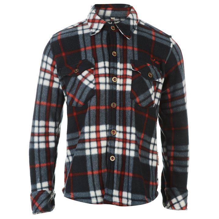 Promotion sur les chemises Lee Cooper - Ex : Chemise enfant Lee Cooper Long Sleeve Check