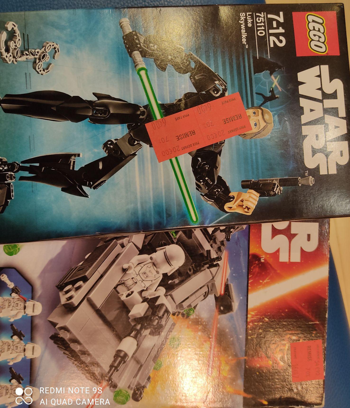 Sélection de Jouets Lego Star Wars en promotion (ex : Luke Skywalker) - Évry 2 (91)