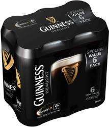 3 Packs de Guinness - 6x33cl (via BDR)