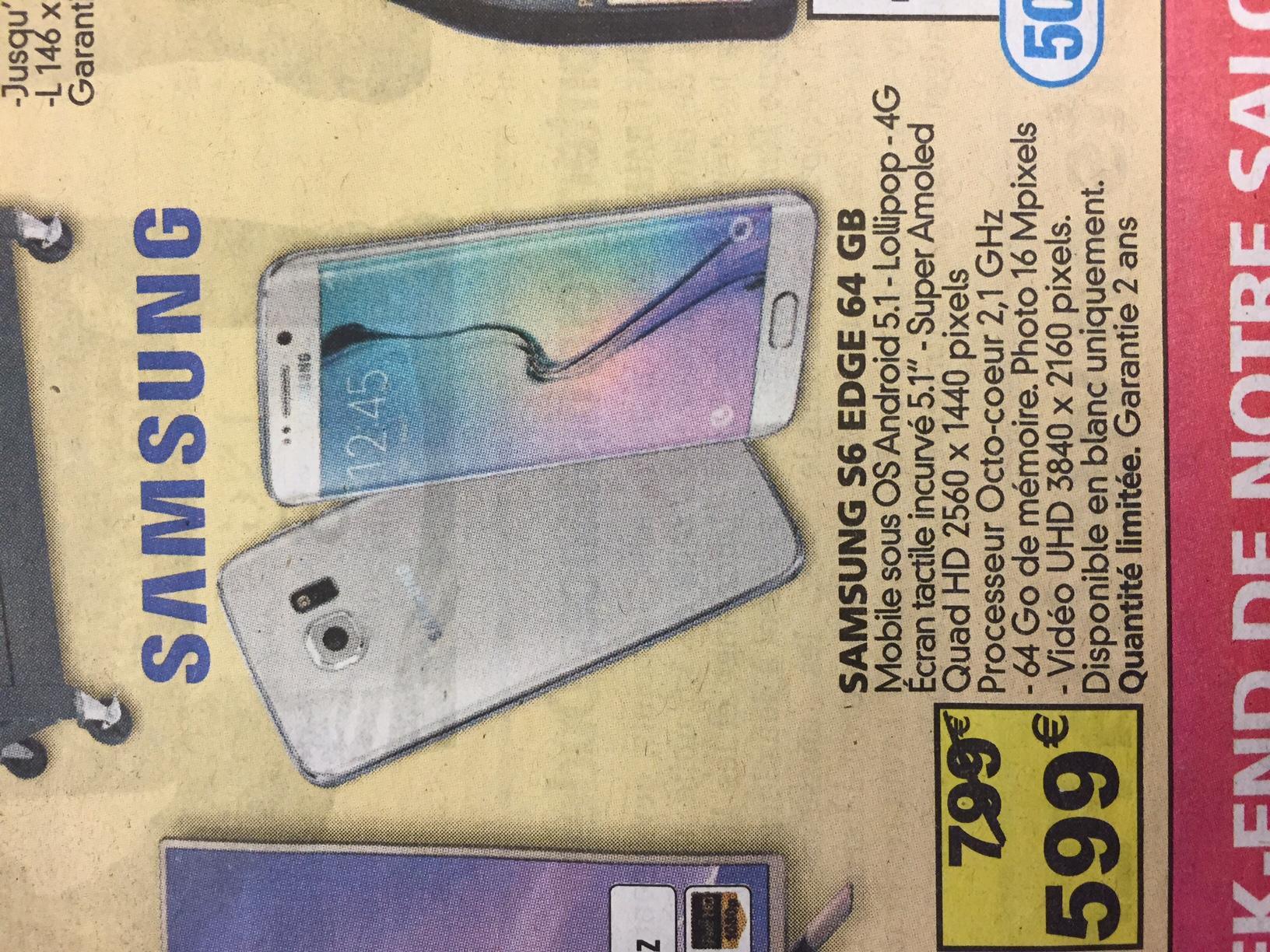 Samsung Galaxy S6 Edge - 64GB