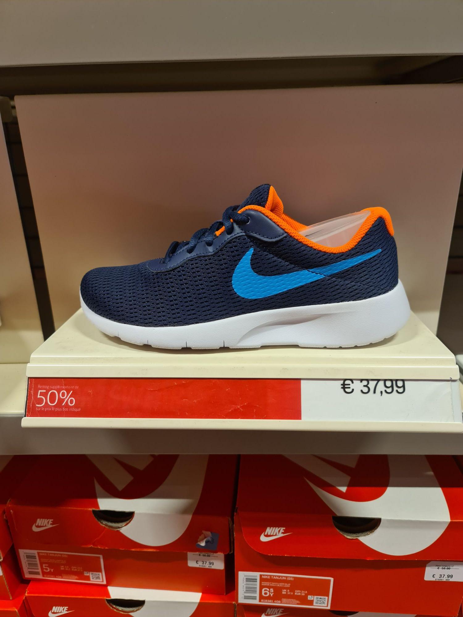 Baskets pour femme Nike Tanjun - Nike Factory XXX (Claye Souilly 77)