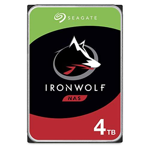 "Disque dur Interne 3.5"" Seagate IronWolf (ST4000VNZ08) - 4 To, 5900 rpm"