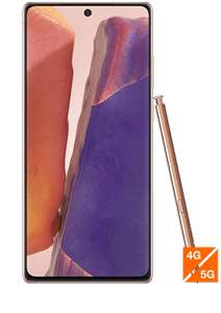 "[Clients Sosh] Smartphone 6,7"" Samsung Galaxy Note 20 5G - 256 Go, Bronze"