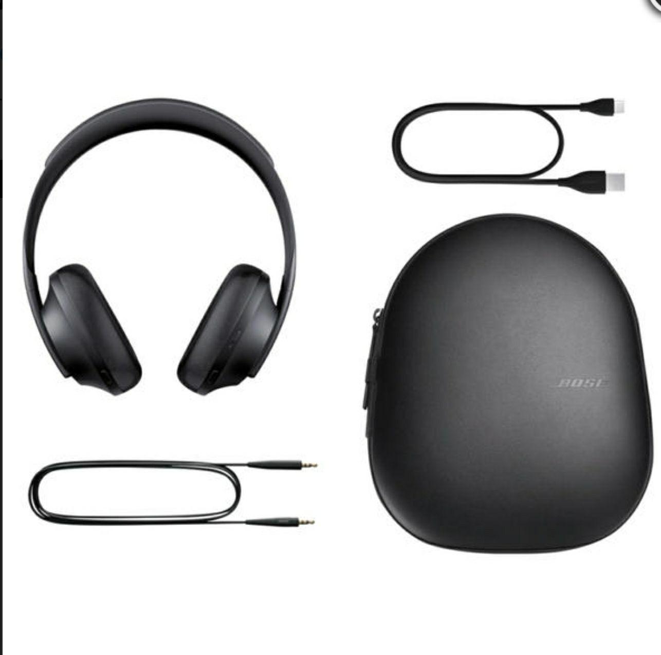 Casque Bluetooth BoseHeadphones 700 Black (Frontaliers Suisse)