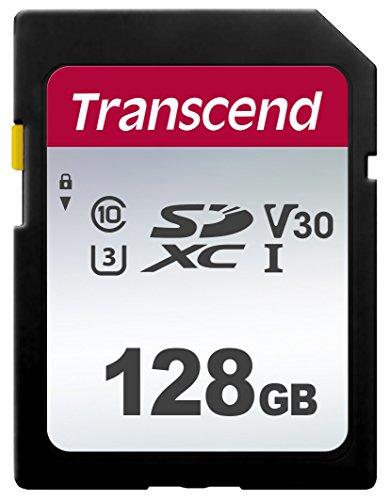 Carte Mémoire SDXC Transcend Classe 3 (3D NAND) - 128 Go
