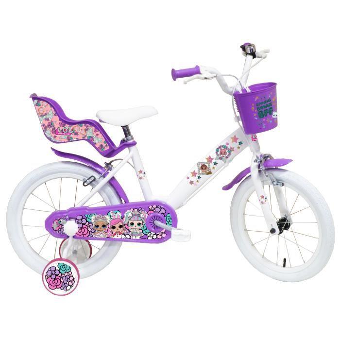 Vélo enfant 16'' Fille Licence poupée LOL (Vendeur tiers)