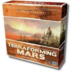Sélection de jeux de société en promotion - Ex: Terraforming Mars (citygeek.fr)