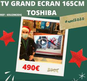 "TV 65"" Toshiba 65UA2063DG (4K UHD, LED, HDR10 / HLG, Dolby Vision & Audio, Android TV) - Reims Village (51)"