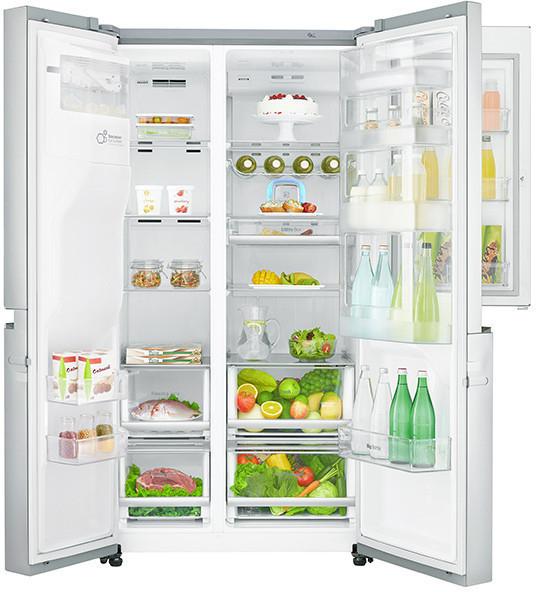 Réfrigérateur américain LG GSS6676SC - Magic Crisper, 601 L, A++