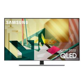 """TV 55"""" Samsung QE55Q77T (2020) - 4K UHD, HDR, QLED, Smart TV (via ODR de 200€)"""