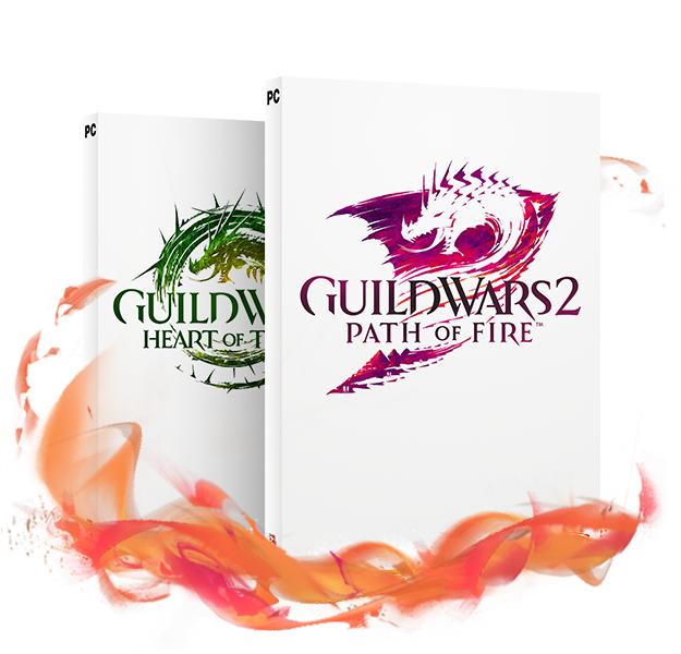 Guild Wars 2: Path of Fire – Édition Deluxe sur PC (Dématérialisé)