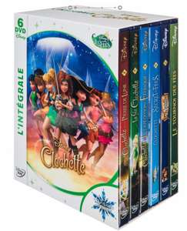 Coffret 6 DVD Intégrale Clochette