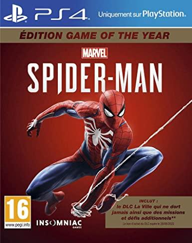 Marvel Spider-man GOTY sur PS4