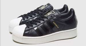 Baskets Femme Adidas Superstar Bold Black - (du 36 au 41)