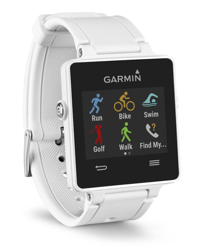 Montre Connectée Multisports Garmin Vivoactive avec GPS Intégré - Blanche