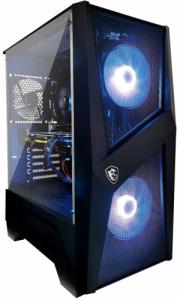 PC Gamer - Ryzen 5 3600, RTX 3060 Ti (8 Go), 16 Go de RAM, 500 Go SSD Nvme, MSI B450-A PRO MAX