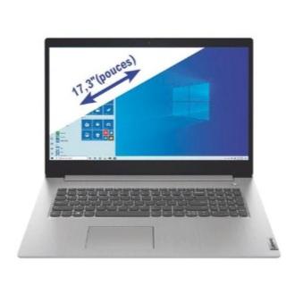 "PC Portable 17.3"" Lenovo Ideapad 3 17ADA05 - Ryzen 5 3500U, 8 Go RAM, 512 Go SSD"