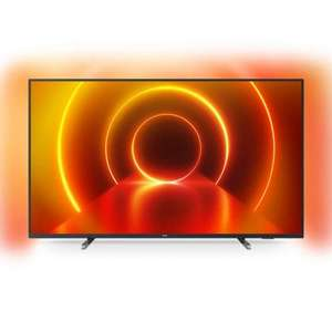 "TV 65"" Philips 65PUS7805 - LED, 4K UHD, HDR 10+, Dolby Vision & Atmos, Ambilight 3 côtés, Smart TV"