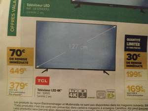 "TV 50"" TCL 50P615 - 4K UHD, Android TV"