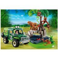 Set de 2 boites Wild Life Playmobile - Animaux de la savane (5417) + Véhicule d'exploration (5416)