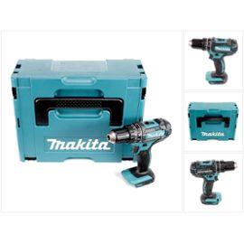 Perceuse visseuse à percussion sans fil Makita DHP 482 ZJ + boîtier Makpac - sans Batterie ni Chargeur