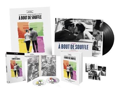 Coffret Collector Blu-ray 4K Ultra HD - À Bout de Souffle (10€ sur le compte fidélité pour les adhérents)