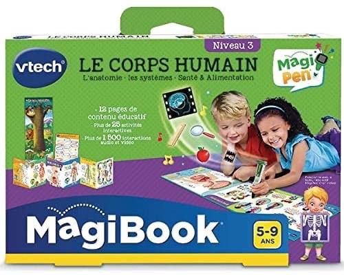 Livre VTech MagiBook - Le corps humain (compatible MagiPen)