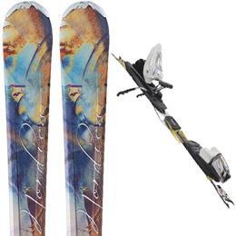 Paire de skis Femme Nordica Fate W XBI CT + Fixation N Sport XB 2012
