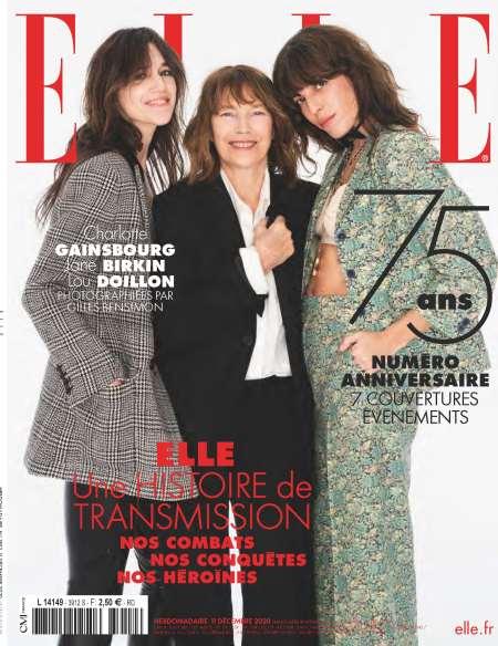 Abonnement de 12 mois au magazine ELLE (52 numéros)