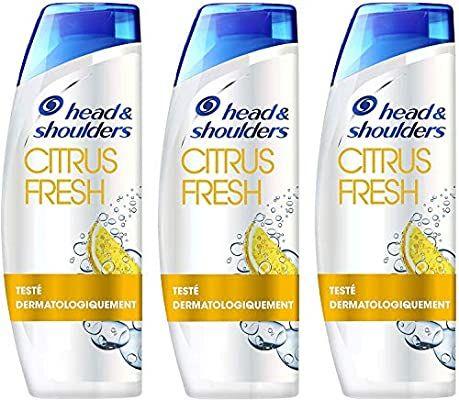 Lot de 3x500ml Shampoing head and shoulders citrus fresh