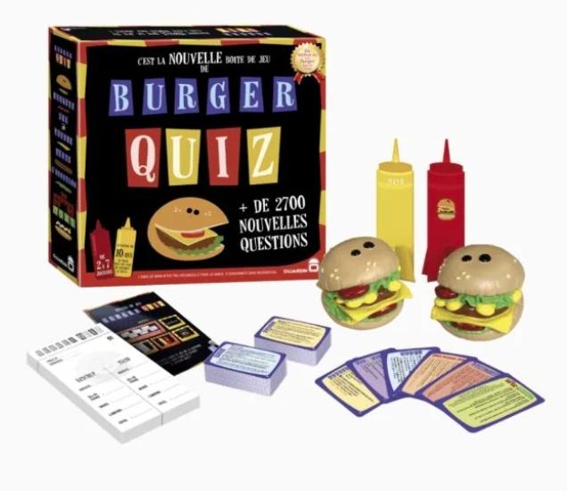Jeu se société Burger Quiz