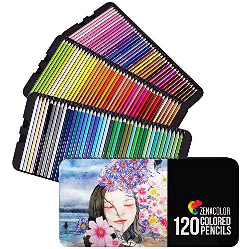 Set de 120 crayons de couleur Zenacolor (vendeur tiers)