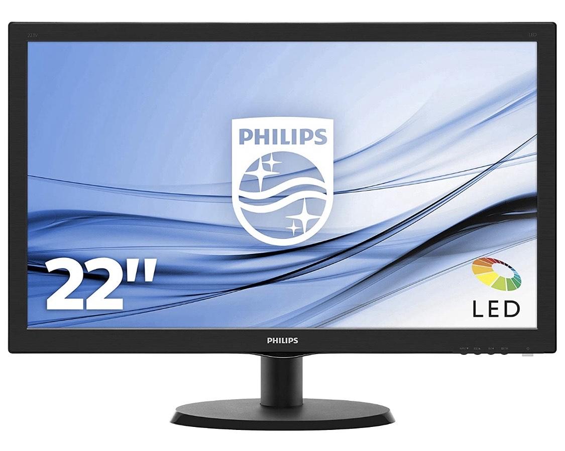 """Écran PC Philips 22"""" 223V5LHSB2 - LED, Full HD, 16:9, 5ms"""
