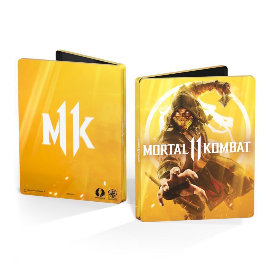 Jeu Mortal Kombat 11 sur Xbox One - Edition Steelbook
