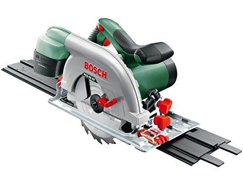 Scie circulaire filaire Bosch - PKS 66 AF - 1600W + lame de scie bois & rail de guidage
