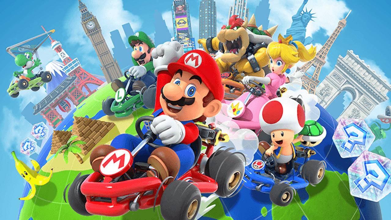 5000 pièces offertes sur Mario Kart Tour (Dématérialisé)