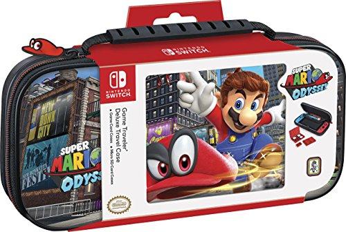 Étui de Transport Mario Odyssey pour Nintendo Switch + Accessoires