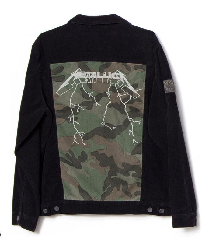 Veste Billabong Ai Metallica - imprimé camouflage - noir
