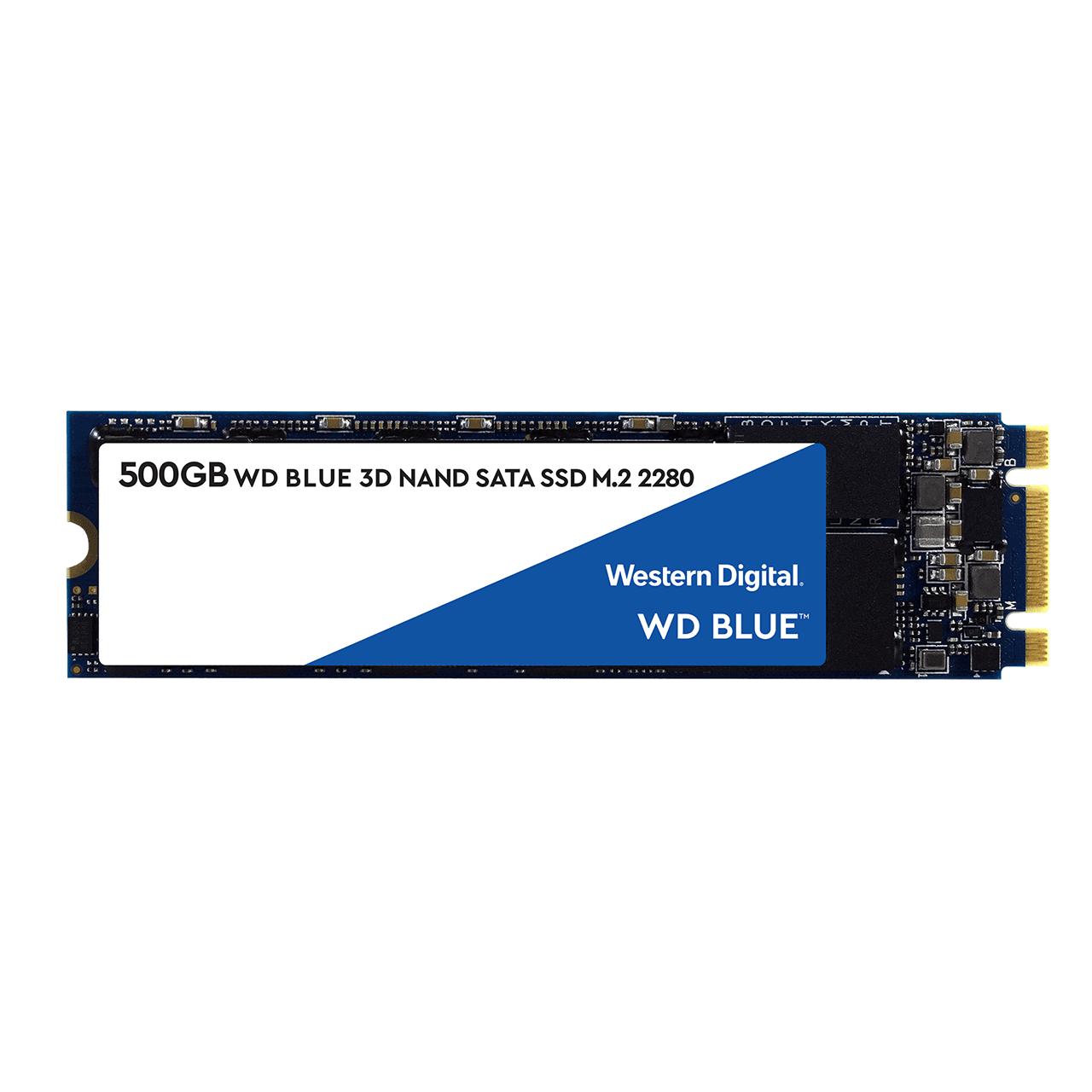 SSD interne M.2 Western Digital WD Blue (SATA) - 500 Go