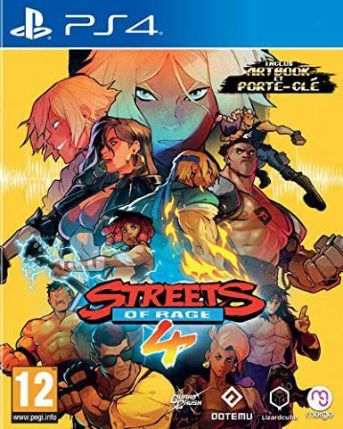 Sélection jeux en promotion - Ex : Streets of Rage 4 sur PS4