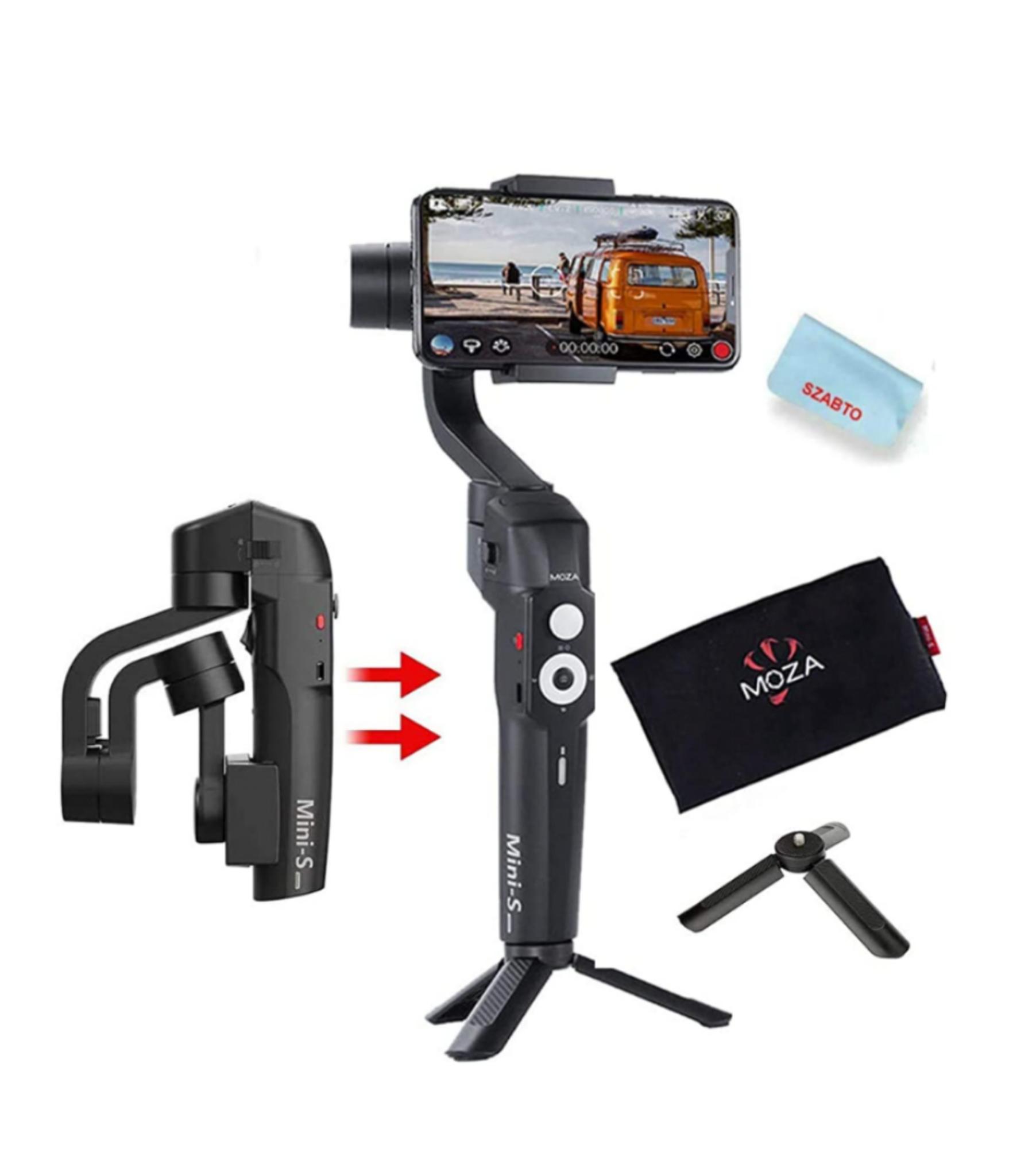Stabilisateur Gudsen Moza Mini S pour smartphone - Noir (camforpro.com)