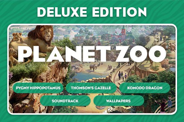 Planet Zoo Deluxe Edition sur PC (Dématérialisé)
