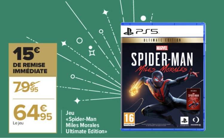 Spiderman Miles Morales Ultimate Edition