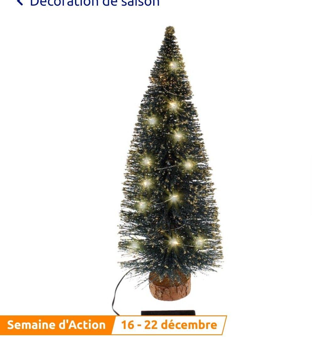 Sapin de Noël avec illumination LED Magic Village(40 Cm-diverses variantes)