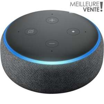 Assistant vocal Amazon Echo Dot 3 - Noir